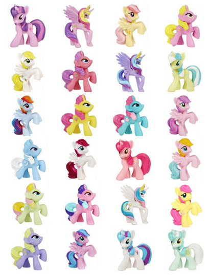 my little pony names - 411×539